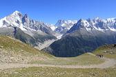 Mont-blanc massif, Fransa — Stok fotoğraf