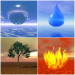 Four elements — Stock Photo #4557377