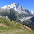 Mont-Blanc massif, Chamonix, France — Stock Photo