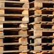 Stock Photo: Wooden palettes