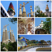 Antoni Gaudi, Barcelona, SpainSpain — Stock Photo