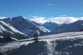 Vista sulle alpi, svizzera — Foto Stock