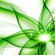 Stock Photo: Green flower