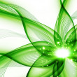 Green flower — Stockfoto