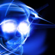 Glowing skull — Stock Photo