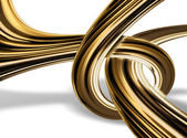 Gold knot — Stock Photo