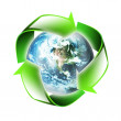 Symbol of the environment — Stock Photo