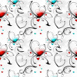 Hearts background — Stockfoto