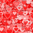 Red hearts — Stock Photo #5113673