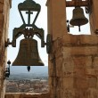 Bells of the Santa Maria church, Montblanc, Spain — Stock Photo