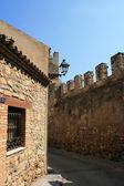 Castle of Montblanc, Catalonia, Spain — Stock Photo