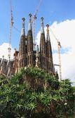 Katedralen la sagrada familia — Stockfoto