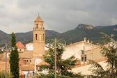 Katalońskiego miasteczka — Zdjęcie stockowe