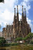 Kathedraal sagrada familia — Stockfoto