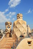 Casa Mila La Pedrera — Stock Photo