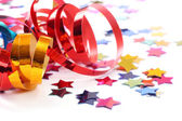 Stars in the form of confetti — Stock Photo