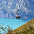 Cableway on Monte Baldo, Trentino, Italy — Stock Photo