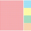 Picnic tablecloth — Image vectorielle