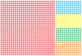 Picnic tablecloth — Stockvector