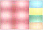 Picnic tablecloth — Stock Vector