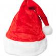 Santa Hat isolated on white — Stock Photo