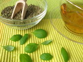 Tea with marjoram — Stock Photo