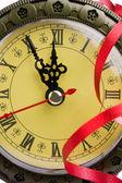 Clock shows almost twelve — Stock Photo