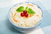 Салат из квашеной капусты — Стоковое фото