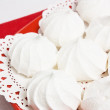 Stock Photo: Meringue kiss-cake