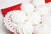 Meringue kiss-cake — Stock Photo