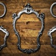 Stock Photo: Metal frames