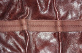 Background of brown leather — Stock Photo