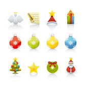 Icon Set - Christmas — Stock Photo
