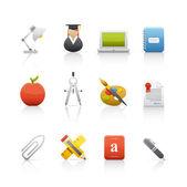 Icon Set - Education — Stock Photo