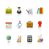 Icon Set - Education — Stock Photo