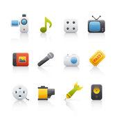 Icon Set - Entertainment — Stock Photo