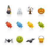 Icon Set - Halloween — Stock Photo