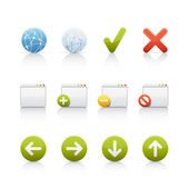 Icon Set - Internet and Communications — Stock Photo