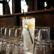 Tall Sweet Cocktail at the Bar — Stock Photo