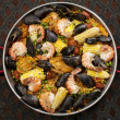 Paella — Stock Photo