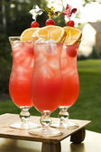 Hurricane Cocktails — Stock Photo