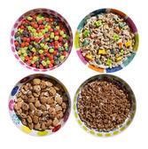 Sugary Cereals — Stock Photo