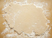 Rolled Out Pie Crust — Stock Photo