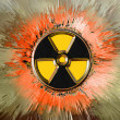 Radiation danger - Stock Photo