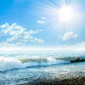Solar sea — Stock Photo