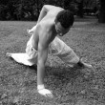 Yoga in park — Stock Photo #4744886
