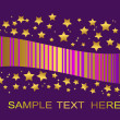Purple background. vector illustration. — Stockvektor