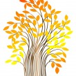 Royalty-Free Stock Vector Image: Autumn tree. vector