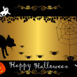 Stock Vector: Halloween banner. vector.