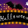 Halloween banner. vector. - Stock Vector